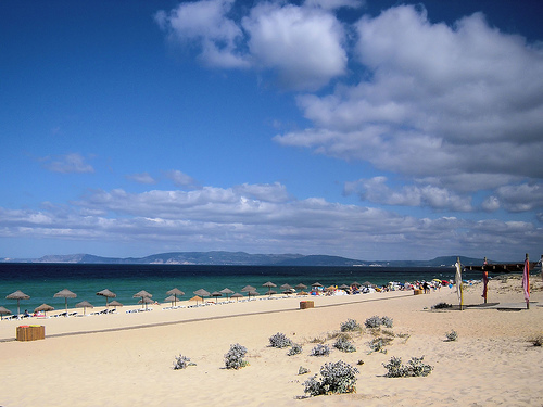 beach sea Alentejo Portugal holiday