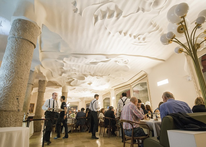 best museum restaurants in Spain pedrera