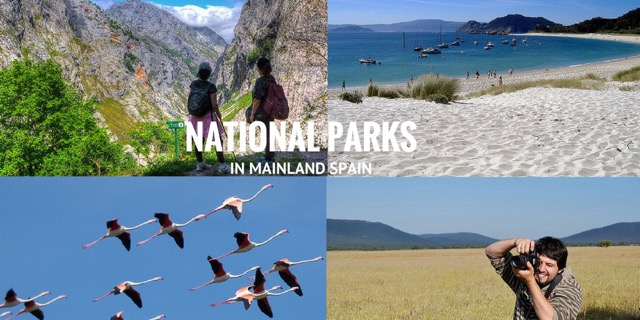 national parks in mainland spain