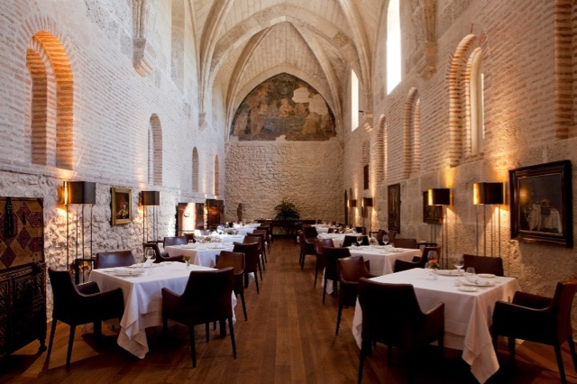 Michelin star hotel dining in Spain