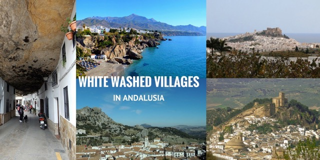 white washed villages in Andalusia header