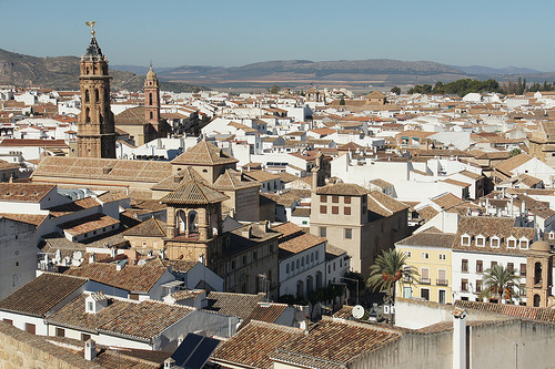white washed villages in Andalusia