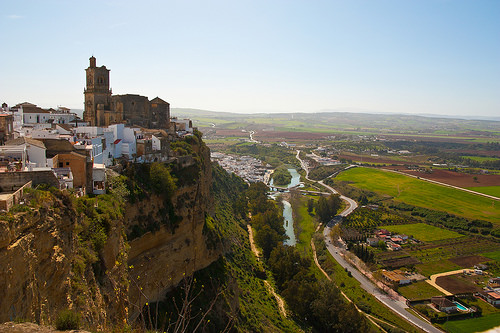white washed villages of andalusia arcos de la frontera
