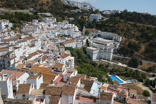 white washed villages of andalusia casares