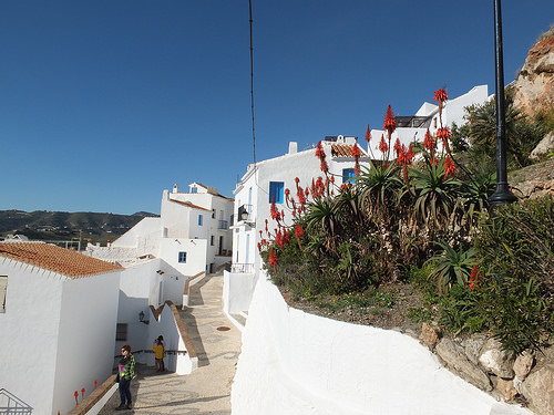 white washed villages of andalusia frigiliana