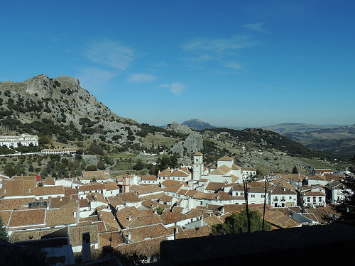 white washed villages of andalusia grazalema