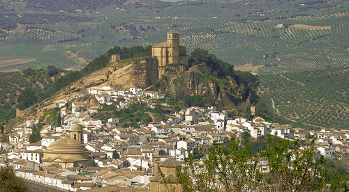 white washed villages of andalusia montefrio