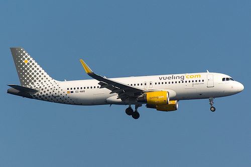 low cost flights in Spain