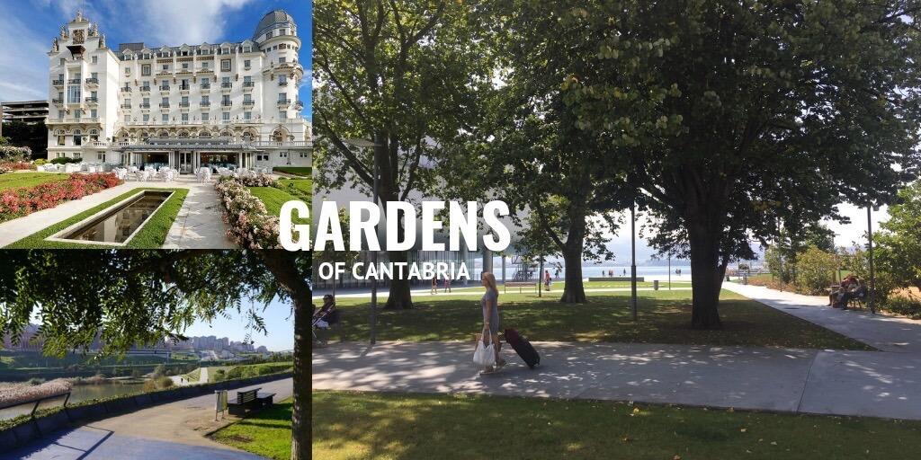 gardens of Cantabria