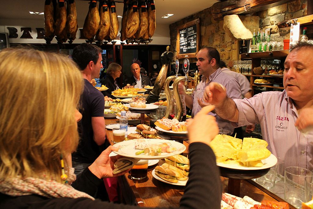 Tapas San Sebastian Donostia Northern Spain food