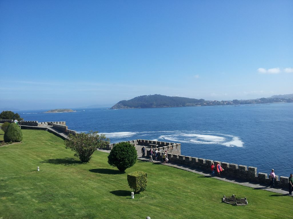 honeymoon parador baiona galicia northern spain