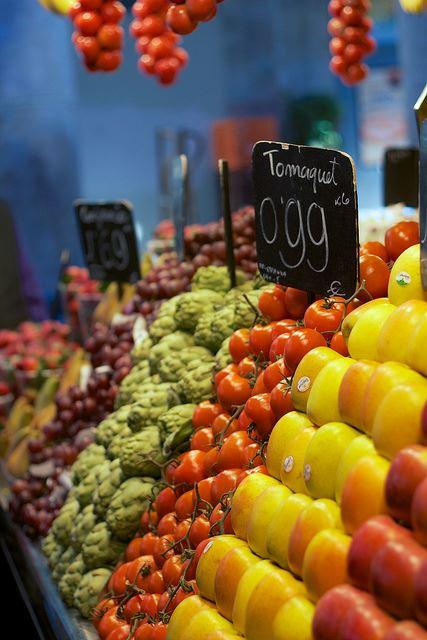 seasonal vegetables in Spain