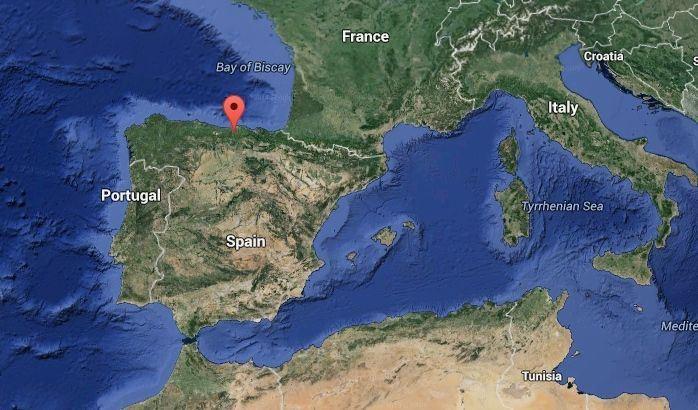 Totally Spain Cantabria California map