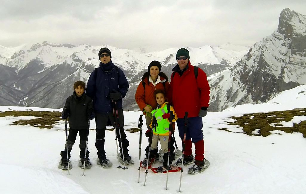 Totally Spain Picos de Europa snow shoe hike