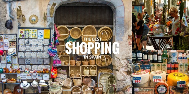 best shopping in Spain