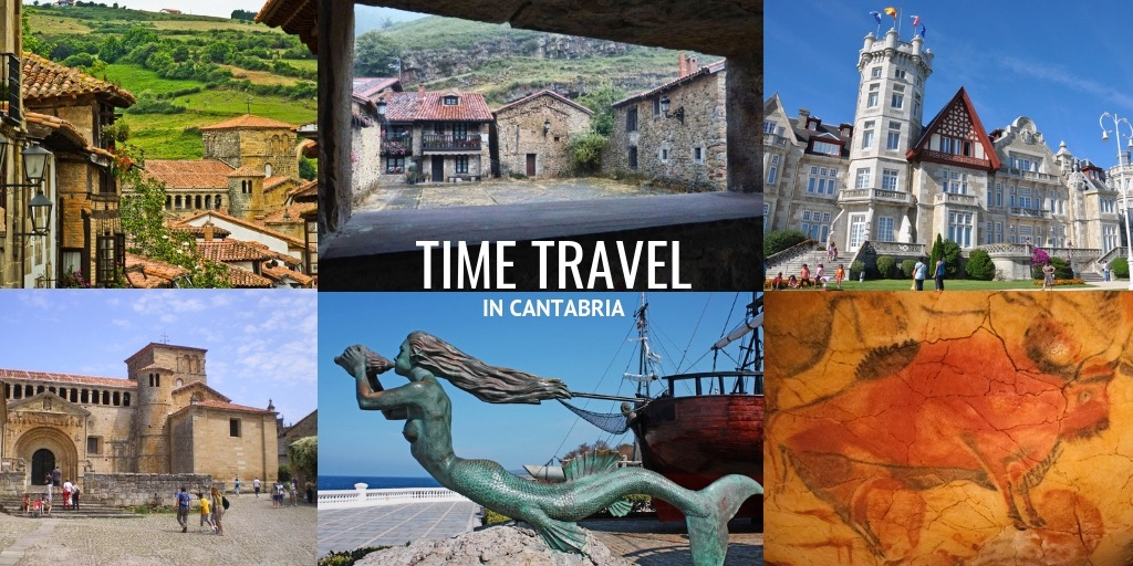 time travel in Cantabria