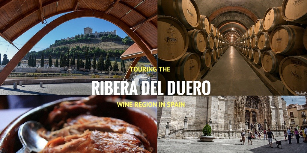 wine regions wineries bodegas ribera duero spain