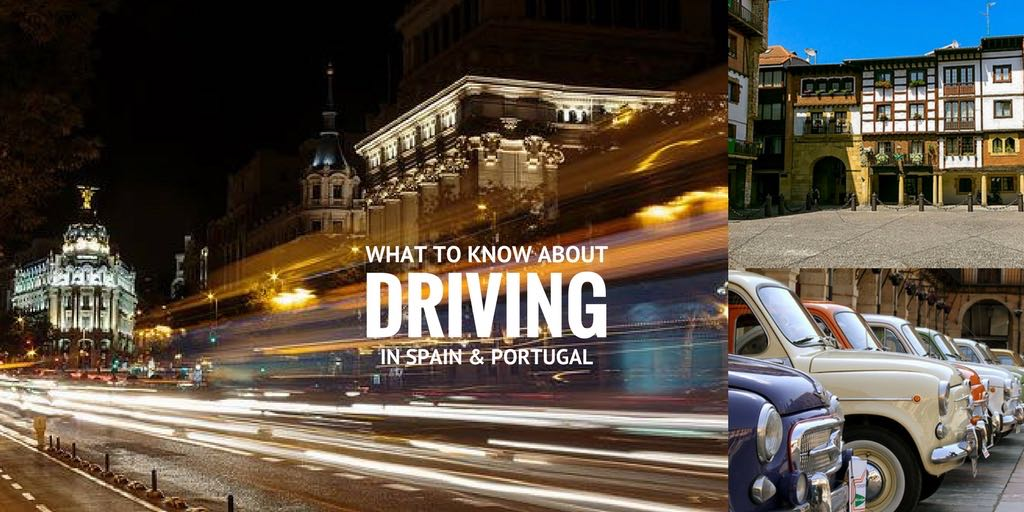 driving in Spain and Portugal