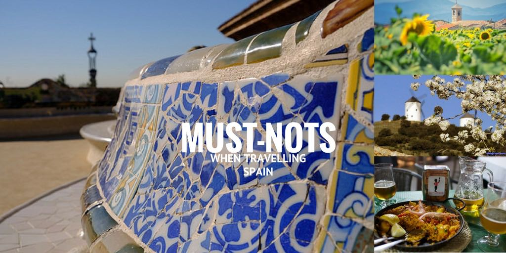must-nots in Spain
