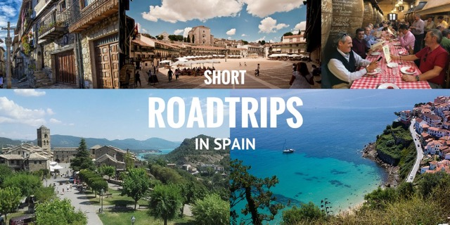 short road trips in spain