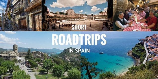 short road trips in spain