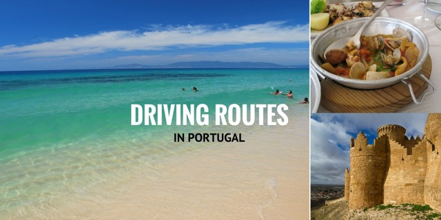 driving routes in Portugal header