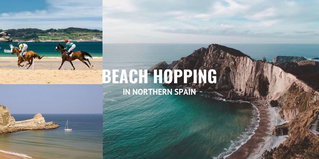 beach hopping in Northern Spain