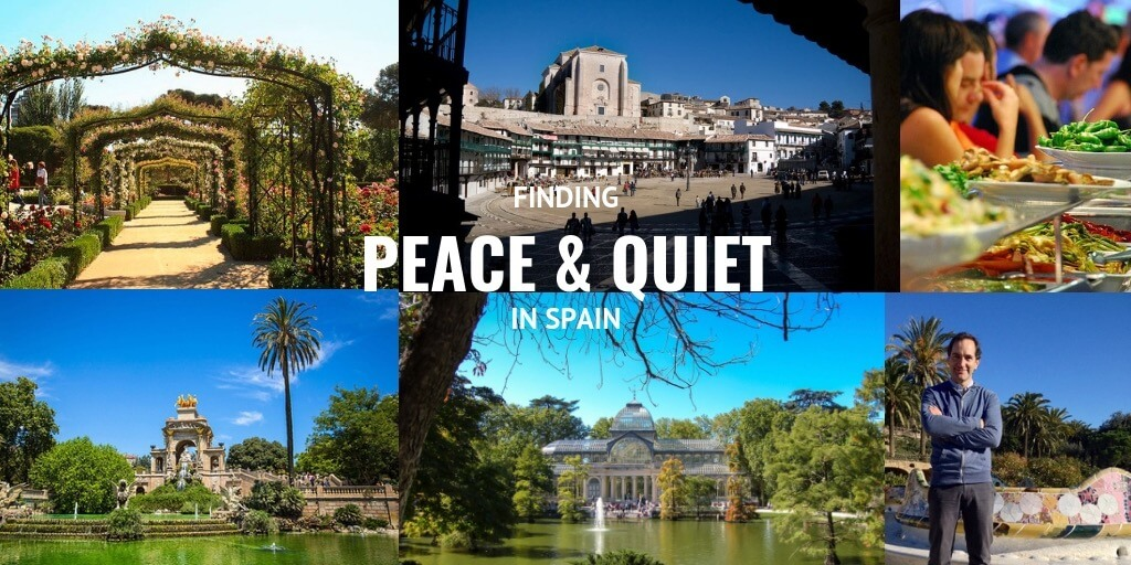 peace and quiet in Spain