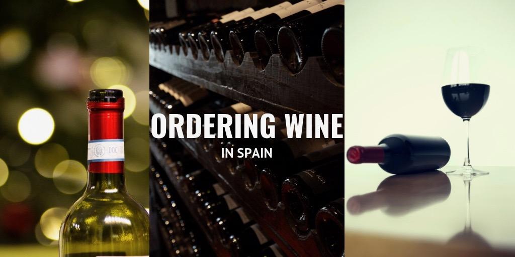 ordering wine in spain